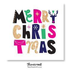 Flowermill Stationery Co. Merry Christmas, Stationery, Holiday, Artwork, Cards, Merry Little Christmas, Stationeries, Stationery Shop, Vacations