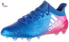 Adidas X 16.1 Fg, Chaussures de Football homme - Bleu (Blu Azul/ftwbla/rosimp), 42 2/3 EU - Chaussures adidas (*Partner-Link)