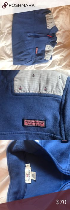 Vineyard vines Women's Shep shirt This is quarter zip from vineyard vines. It is a size small in women's. It is only a little over a year old and has not been worn that much. Vineyard Vines Tops Sweatshirts & Hoodies