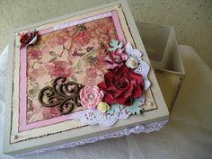 Caixa decorada | ANDREA MORAES | Elo7