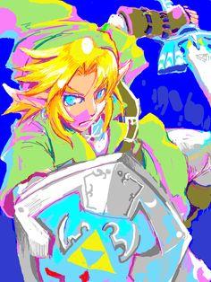 The Legend of Zelda, Link / 「リンリン詰め詰め」/「きりたんぽ」の漫画 [pixiv] [03]