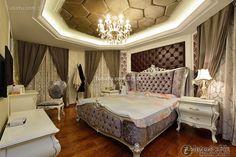 Luxury European home master bedroom design 2015