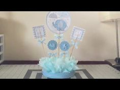113 best diy creations images paper flowers tissue flowers rh pinterest com Pinterest Baby Shower Centerpieces Baseball Baby Shower Centerpieces