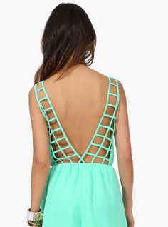 mint lattice | Necessary Clothing