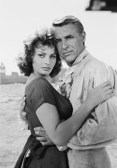 Sophia Loren  Cary Grant                                                                                                                                                                                 Mais