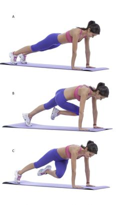 Le climber, un exercice complet, gainant et cardio lire la suite / http://www.sport-nutrition2015.blogspot.com