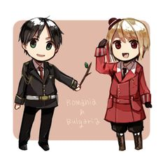 Bulgaria and Romania...I remember that stick that Bulgaria hit Italy with…xD