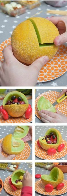 A few years ago I went to a fantastic baby shower and saw a great idea where a baby carriage was made from a Water Melon. Post on How to carve out and make a Melon carving. ideen Baby Shower Menu Guide and Food Ideas - BabyPrepping Décoration Baby Shower, Gateau Baby Shower, Cute Baby Shower Ideas, Fiesta Baby Shower, Baby Shower Brunch, Baby Shower Cakes, Baby Shower Themes, Baby Shower Gifts, Baby Shower Fruit