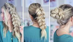 DIY: Three Pull-Through Braid Tutorials