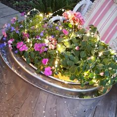 http://penny-pennystreasures.blogspot.com/2017/05/stainless-steel-washer-tub-repurposed.html