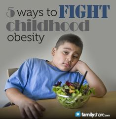 By buying healthier foods, limiting snacking, eating the same food as your kids do, and going out and getting exercise with them it is easy to fight childhood obesity.