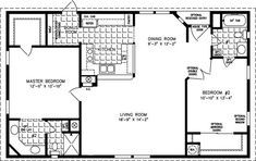 1000 sq foot house plans The Manufactured Home Floor Plan Jacobsen 1000 sq foot house plans The Manufactured Home Floor Plan Jacobsen Br House, Tiny House Living, House Front, Manufactured Homes Floor Plans, Small House Floor Plans, Small House Plans Under 1000 Sq Ft, 1000 Sq Ft House, Barndominium Floor Plans, Barndominium Texas