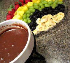 Rae Gun Ramblings: Recipe: Rainbow Chocolate Fondue