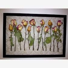 Image result for shadow box flowers
