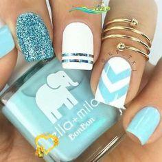 Cute Summer Nail Art Ideas lilostyle Cute Nails