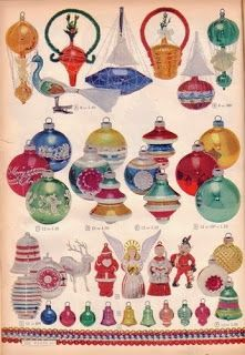 shiny brite the ornaments vintage christmas - Vintage Shiny Brite Christmas Ornaments