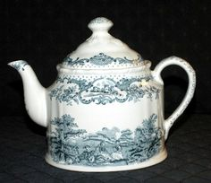 Mason's England Patent Ironstone Romantic Teapot.  Great for a classic Tea Party!