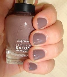 sally hansen commander in chic- this nail polish line is pretty amazing and comes in many different colors!