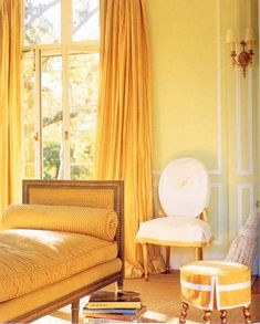 yellow daybed | Stephen Shubel yellow daybed