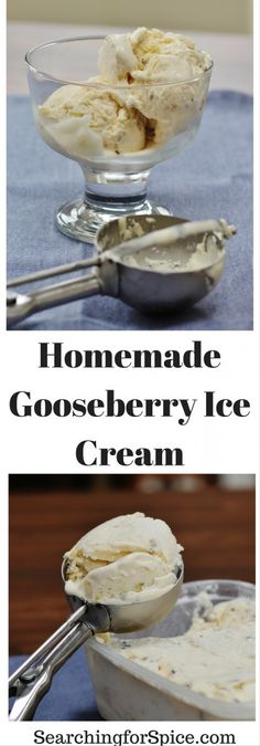If you're looking for different summer gooseberry recipes then this homemade gooseberry ice cream is just what you need. An easy ice cream maker recipe. Yogurt Recipes, Fruit Recipes, Baby Food Recipes, Sweet Recipes, Dessert Recipes, Vitamix Recipes, Tart Recipes, Summer Recipes, Healthy Recipes