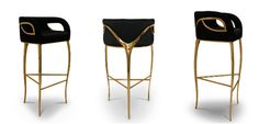 Raising the Bar: KOKET's Bar Stool Collection