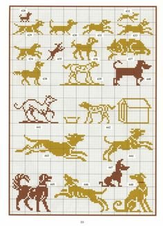 ru / Фото - Repertoire des motifs - Orlanda Plus Fair Isle Knitting Patterns, Knitting Charts, Loom Patterns, Knitting Stitches, Stitch Patterns, Cross Stitching, Cross Stitch Embroidery, Embroidery Patterns, Stitch Crochet