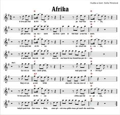 Pro školky   CD pro děti Music Notes, Yahoo Images, Indiana, Image Search, Sheet Music, School, Africa, Music Sheets, Song Lyrics