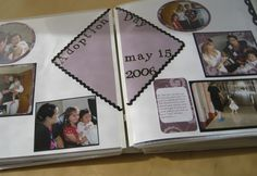 What is an adoption Lifebook?  -An adoption Lifebook, or adoption storybook, is a handmade scrapbook and keepsake that chronicles and illustrates a child's journey to his or her adoptive home. It is used as a source of information as well as a way to open up the discussion of adoption with a child. #Adoption #Lifebook  - Capturing the Day You Were Born
