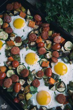 One-Pan Egg and Vegetable Breakfast (Paleo Breakfast) Fast Metabolism Diet, Metabolic Diet, Quick Healthy Breakfast, Breakfast Recipes, Breakfast Bites, Breakfast Snacks, Breakfast Burritos, Egg Recipes, Paleo Recipes