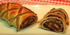 Esta es la primera receta de una serie de ocho, y no podía ser otra que el pan de jamón, por las fechas en la que estamos y sabiendo que en algunos países es muy consumido, queremos compartir con todas esta maravilla de receta. Pan Relleno, Cheesecake, Crackers, Rolls, Ethnic Recipes, Bread Pizza, Food, Kitchen Ideas, Youtube