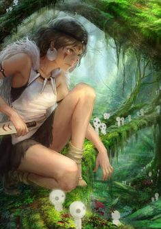 Princess Mononoke http://anime.about.com/od/toppicks/tp/Top-5-Must-See-Studio-Ghibli-Movies.htm