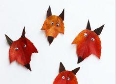 299 Mejores Imagenes De Hojas Otono Art For Toddlers Leaf Art Y