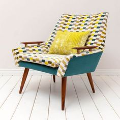 Reupholstered Lounge Chair | Danish Modern