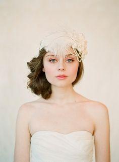 Trendy Tuesday: Heavenly Headpieces | Confetti Daydreams - Flapper-inspired bridal headband