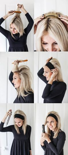 Tutorial #peinado sencillo con diadema, pelo suelto