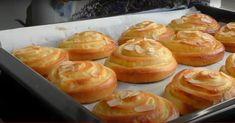 κουλουράκια κρέμας0 Doughnut, Creme, Muffin, Pudding, Sweets, Candy, Cookies, Breakfast, Desserts