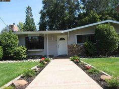 12 CORTE NOGAL, DANVILLE, CA 94526 - $1,010,000 / beds: 3 / baths: 2 Full - Nearly a third of an acre flat lot. Incredible location on a cul-de-sac. Kitchen remodeled with garage and family room addition. Bonus garage space for 3rd car \ workshop or potential interior space. Good expansion potential. Walk to trail and schools..