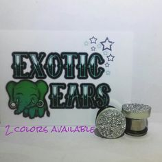 Druzzy plugs druzy plugs druzzy gauges druzy gauges by ExoticEars