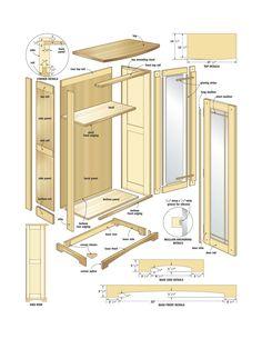 Build an elegant media cabinet – Canadian Home Workshop