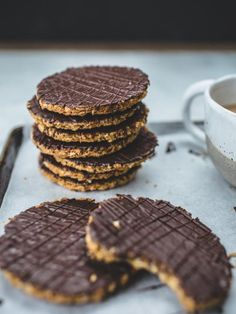 Delight your favorite Brit (or devoted Anglophile) with a batch of homemade chocolate hobnobs.