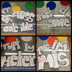 Prefixes and suffixes 2nd Grade Ela, 4th Grade Writing, 5th Grade Reading, Third Grade, Fourth Grade, Grade 3, Teaching Vocabulary, Teaching Language Arts, Teaching Reading