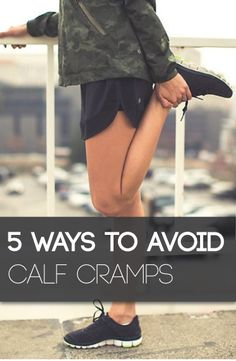If you are a runner, then I am sure that you will know about calf cramps. Here's how to stop the pain!