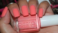 Love this color. I need to start investing in some Essie polish. Anyone know the shade this is?