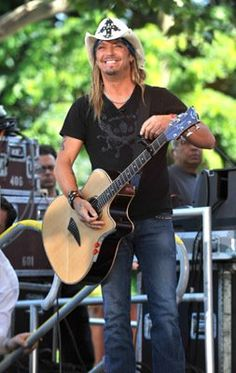 Bret Michaels -- something about this man makes a girl want to get a whiskey and dance!