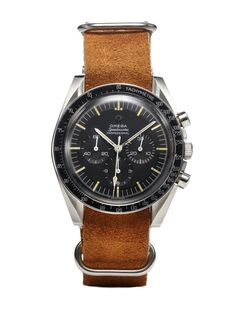 Omega Stainless Steel Speedmaster Professional (c. 1960s). $4,495 at Park Be a…