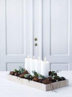 Simple, yet beautiful Christmas decorating ideas | my scandinavian home | Bloglovin'