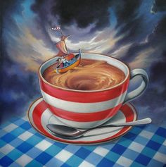 Storm in a teacup - Chris Pepper