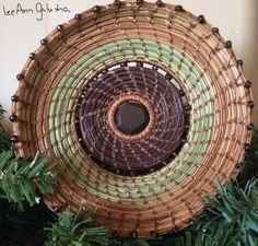 Pine needle art by LeeAnn Galusha