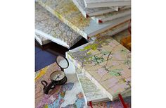 Map Sketch Books | Re-found Objects