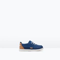 ZARA - KIDS - COMBINATION MATERIAL DECK SHOES